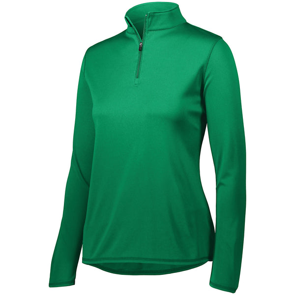 Augusta 2787 Ladies Attain 1/4 Zip Pullover - Kelly