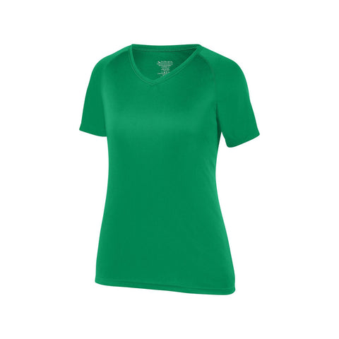 Augusta 2793 Girls Attain Wicking Shirt - Kelly
