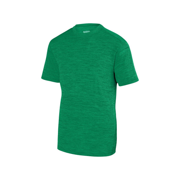 Augusta 2901 Youth Shadow Tonal Heather Training Tee - Kelly