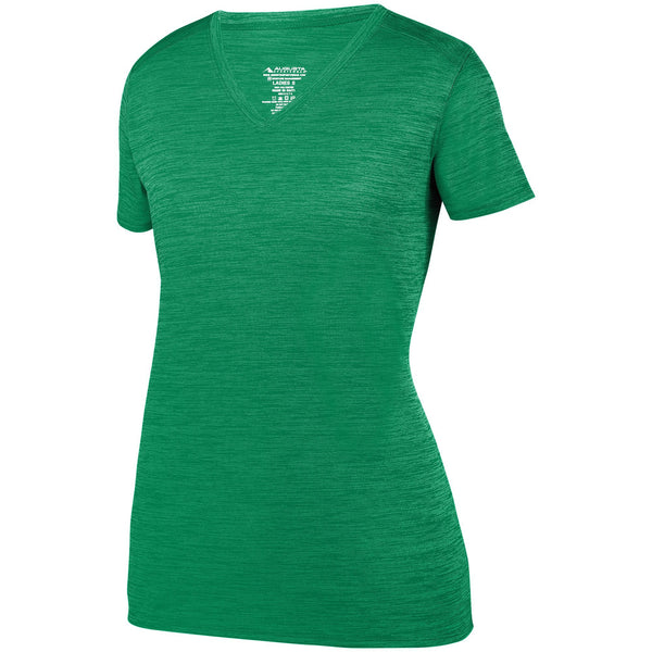 Augusta 2902 Ladies Shadow Tonal Heather Training Tee - Kelly