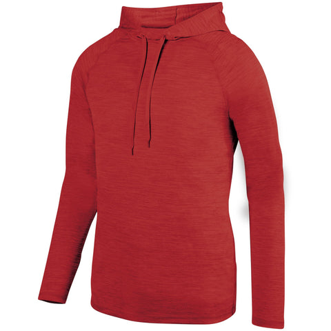 Augusta 2905 Shadow Tonal Heather Hoody - Red