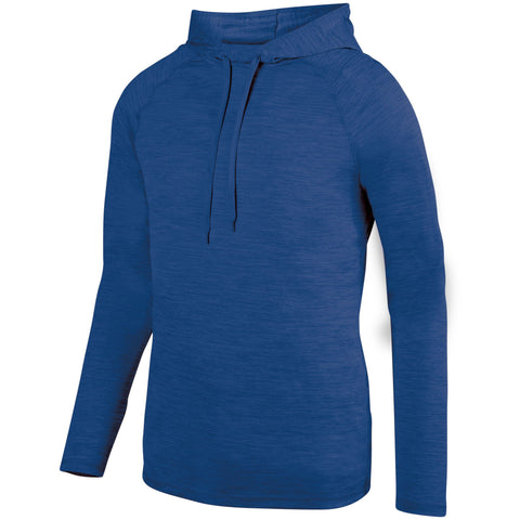 Augusta 2905 Shadow Tonal Heather Hoody - Royal