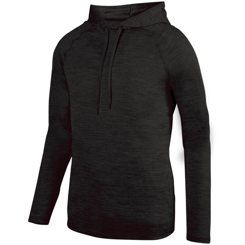 Augusta 2905 Shadow Tonal Heather Hoody - Black