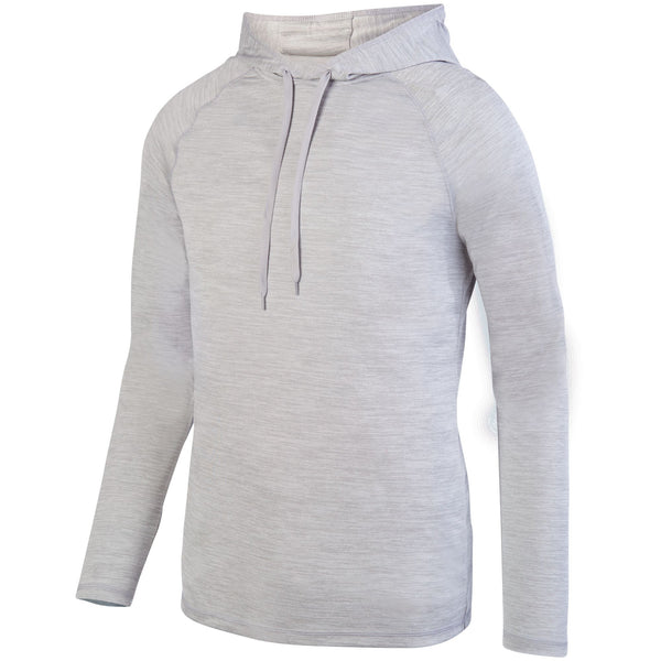 Augusta 2905 Shadow Tonal Heather Hoody - Silver