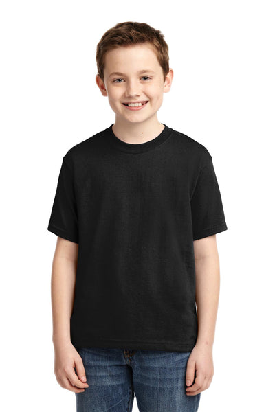 Jerzees 29B Youth Dri-Power 50/50 Cotton/Poly T-Shirt - Black - HIT A Double