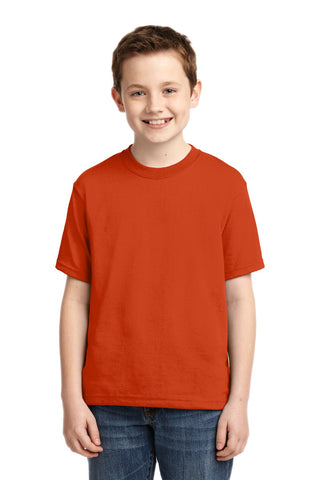 Jerzees 29B Youth Dri-Power 50/50 Cotton/Poly T-Shirt - Burnt Orange - HIT A Double