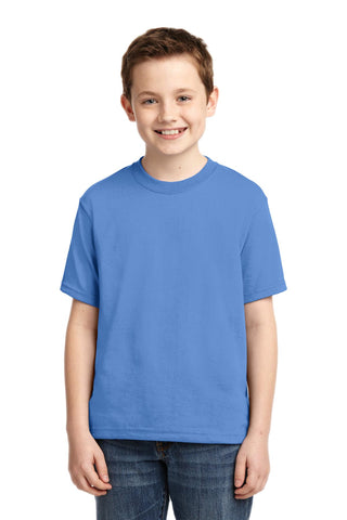 Jerzees 29B Youth Dri-Power 50/50 Cotton/Poly T-Shirt - Columbia Blue - HIT A Double