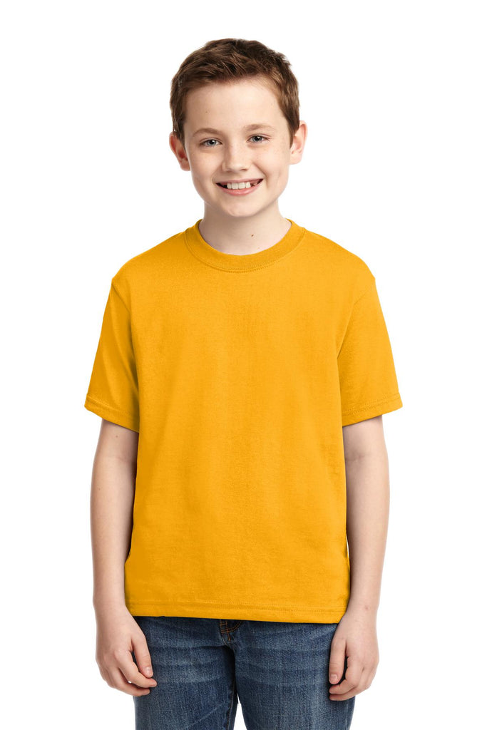 Jerzees 29B Youth Dri-Power 50/50 Cotton/Poly T-Shirt - Gold - HIT A Double