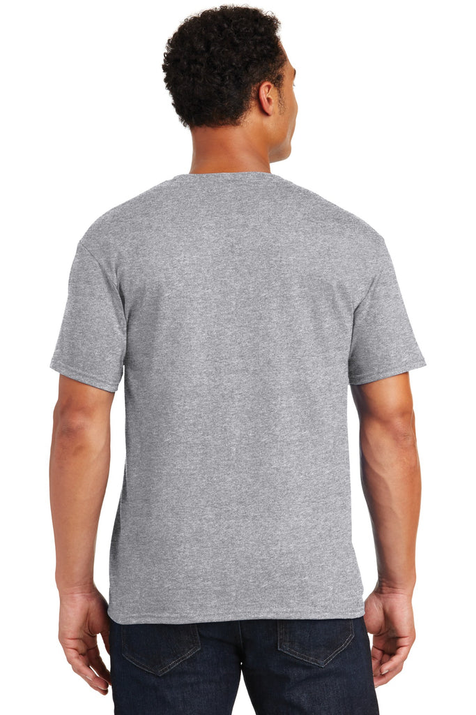 Jerzees 29M Dri-Power Active 50/50 Cotton/Poly T-Shirt - Athletic Heather - HIT A Double
