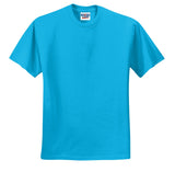 Jerzees 29M Dri-Power Active 50/50 Cotton/Poly T-Shirt - California Blue - HIT A Double