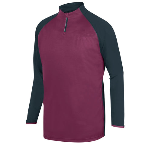 Augusta 3620 Record Setter Pullover - Slate Maroon