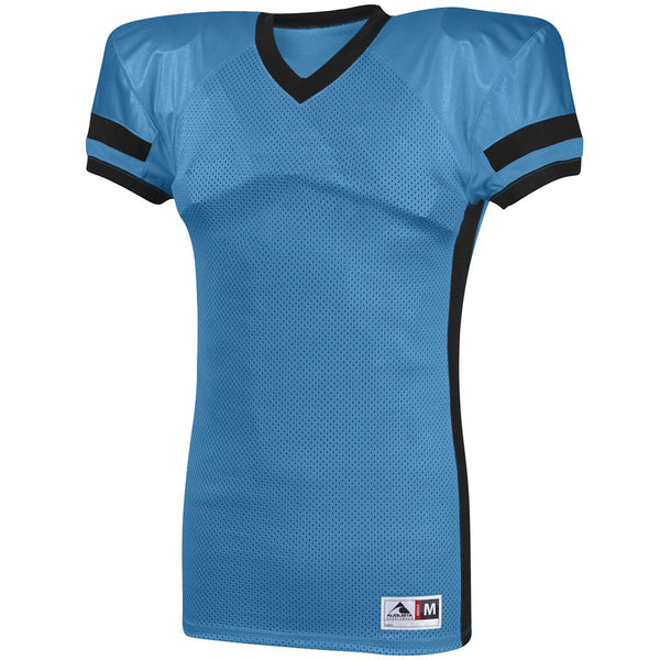 Augusta 9571 Handoff Jersey Youth - Columbia Blue Black