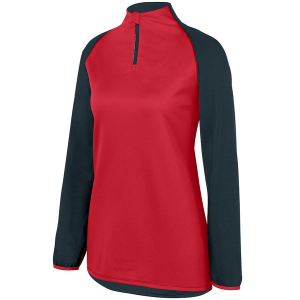 Augusta 3622 Ladies Record Setter Pullover - Slate Red