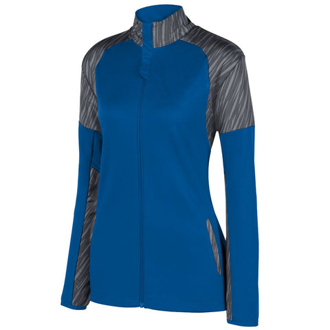 Augusta 3627 Ladies Breaker Jacket - Royal Slate