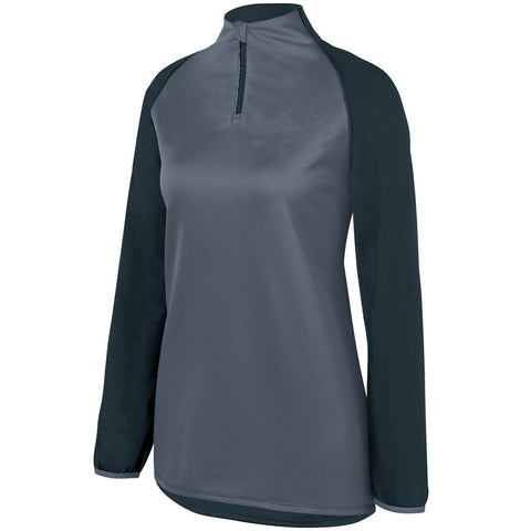 Augusta 3622 Ladies Record Setter Pullover - Slate Graphite Heather