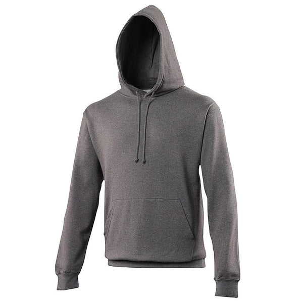Just Hoods JHA001 College Hoodie - Charcoal