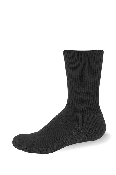 Pro Feet 3004/3 Microban Crew Sock - Black - Work Wear - Hit A Double