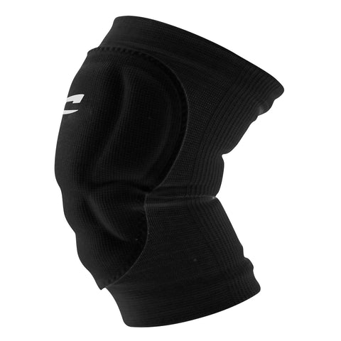 Champro A1004 High Compression/Low Profile Knee Pad Pair - Black