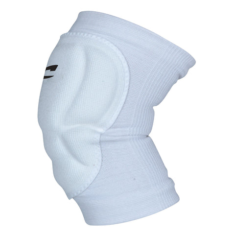 Champro A1004 High Compression/Low Profile Knee Pad Pair - White