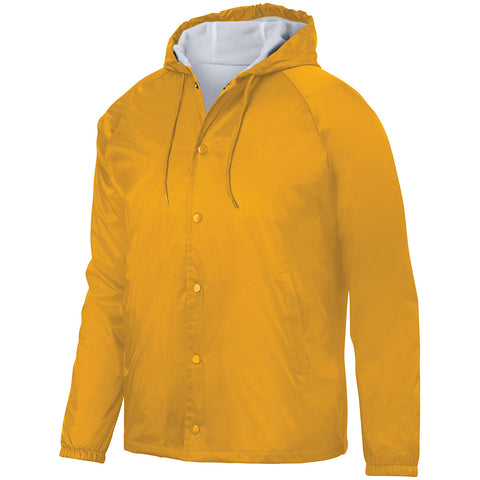 Augusta 3102 Hooded Coach'S Jacket - Gold
