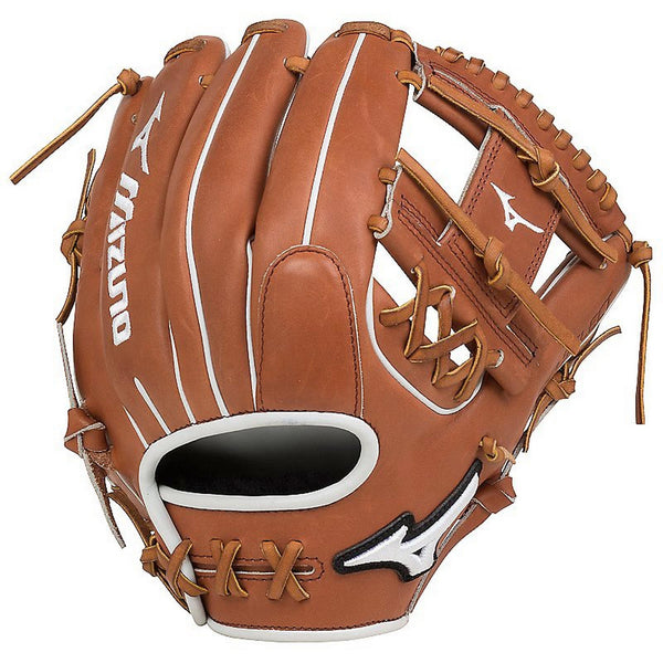 "Mizuno Pro Select Fastpitch 11.50"" Infield Glove - Brown"