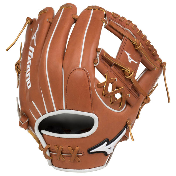 "Mizuno Pro Select Fastpitch 11.75"" Infield Glove - Brown"