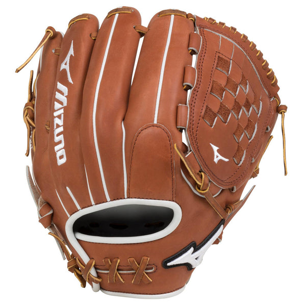 "Mizuno Pro Select Fastpitch 12.00"" Infield Glove - Brown"
