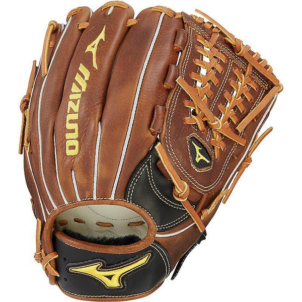 "Mizuno Classic 12.00"" Fastpitch Utility Glove GCF1201F2 - Black Brown"