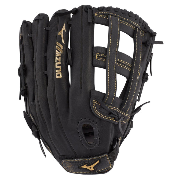 "Mizuno Premier GPM1305 13.00"" Slowpitch Glove - Black"