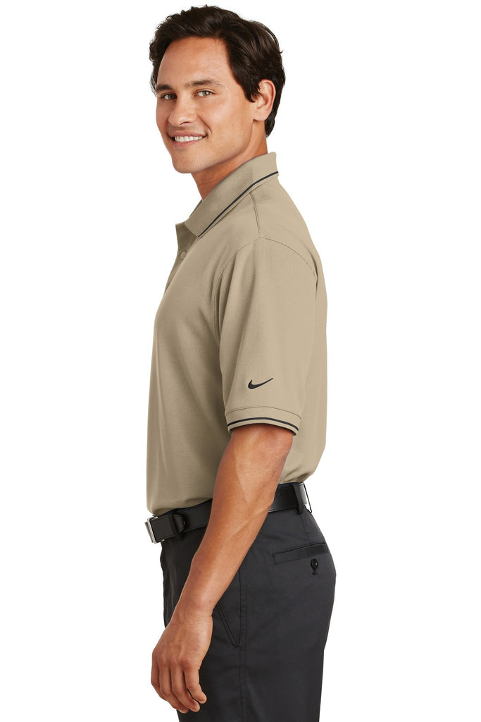 Nike 319966 Dri-Fit Classic Tipped Polo - Pinenut - HIT A Double
