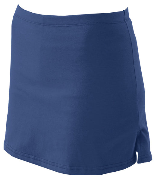 Pizzazz Victory V-Notch Skirt with Boys Cut Brief - Navy