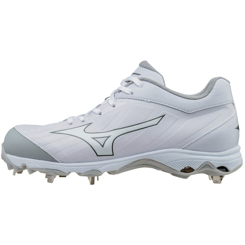Mizuno 9-spike Advanced Sweep 3 Cleats - White