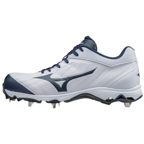 Mizuno 9-spike Advanced Sweep 3 Cleats - White Navy