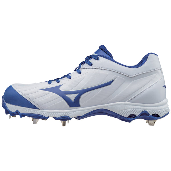 Mizuno 9-spike Advanced Sweep 3 Cleats - White Royal
