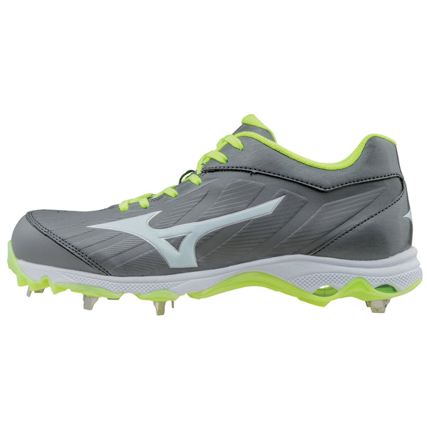 Mizuno 9-spike Advanced Sweep 3 Cleats - Gray White