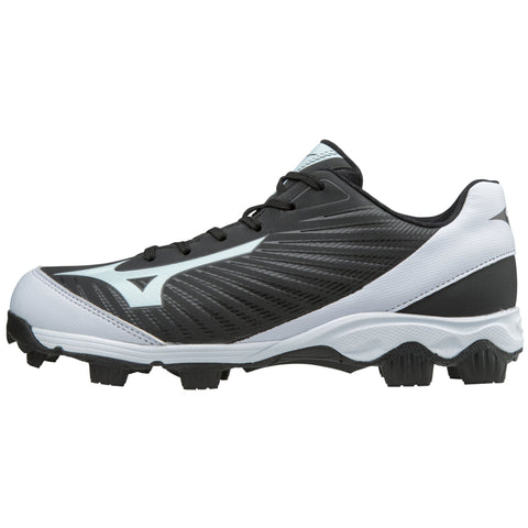 Mizuno Womens 9-Spike Advanced Finch Franchise 7 FP Cleats - Black White