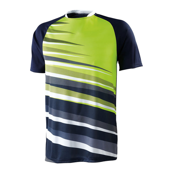 High Five 322911 Youth Galactic Jersey - Navy White Lime