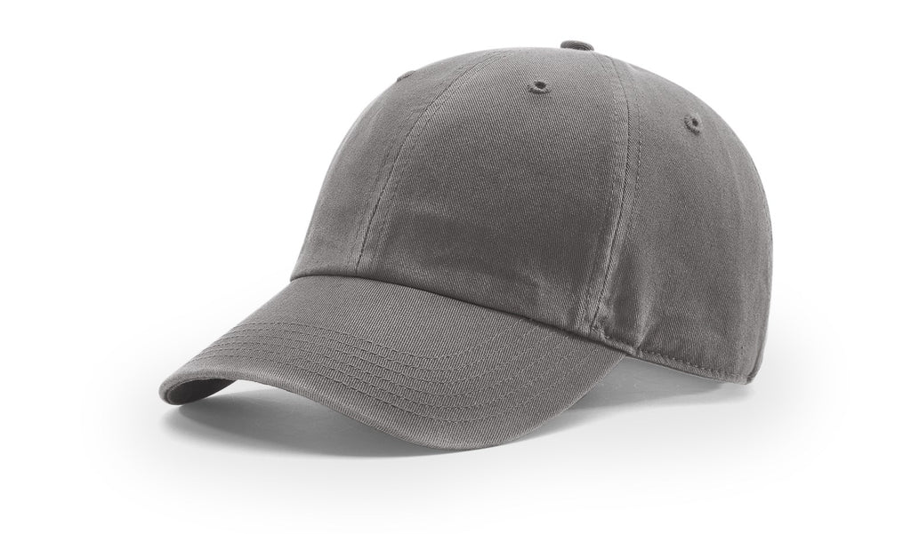 Richardson 324 Pigment Dyed & Washed Cap - Charcoal