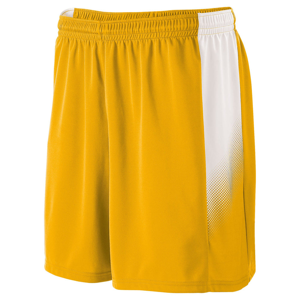 71fe61454 High Five 325420 Ionic Short - Athletic Gold White – HIT A Double
