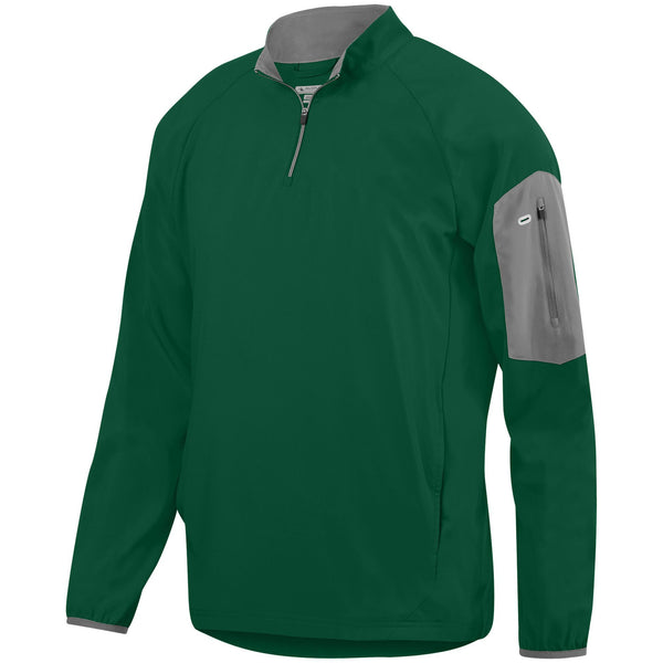 Augusta 3311 Preeminent Half-Zip Pullover - Dark Green Graphite - HIT A Double