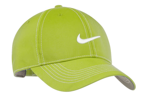 Nike 333114 Swoosh Front Cap - Vivid Green - HIT A Double