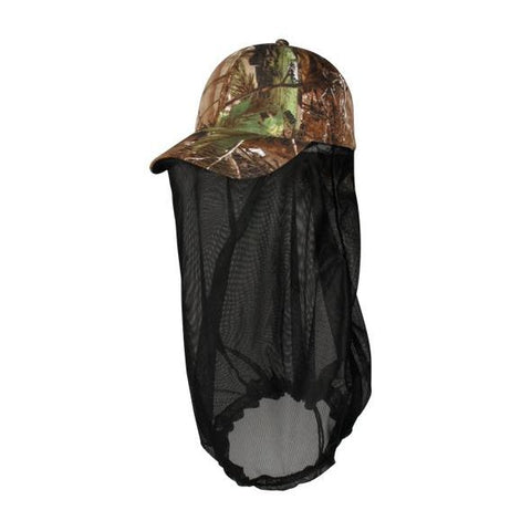 OC Sports 350BN Adjustable Cap with Attached Nrt Facemask - Realtree Xtra Green