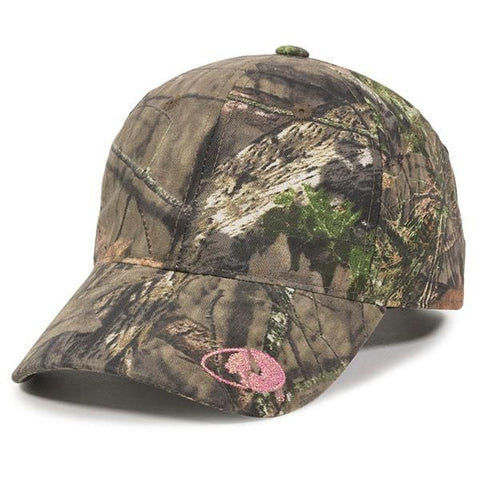 OC Sports 360MG Adjustable Ladies Fit Cap - Mossy Oak Break-Up Country - HIT A Double