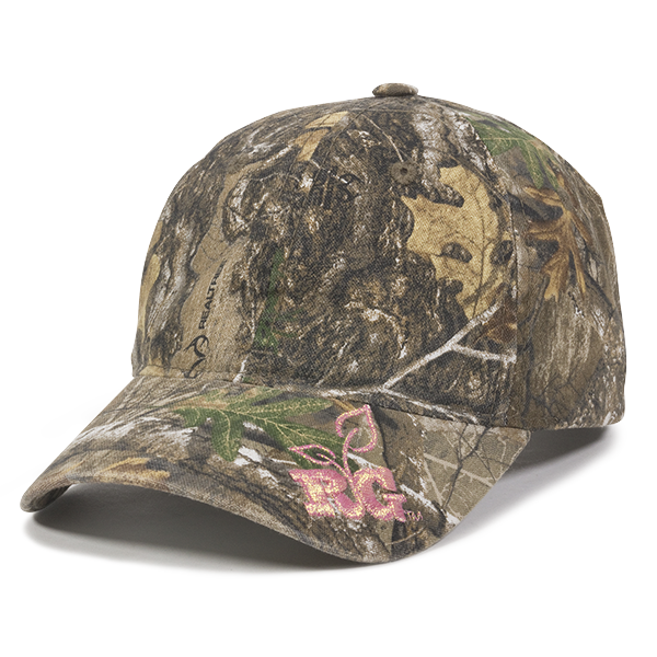 OC Sports 360RG Adjustable Ladies Fit Cap - Realtree Edge - HIT A Double