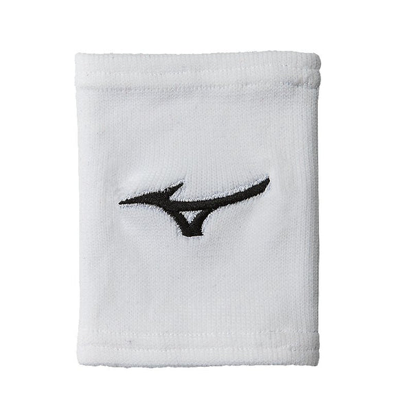 "Mizuno G2 Wristbands 5"" - White"