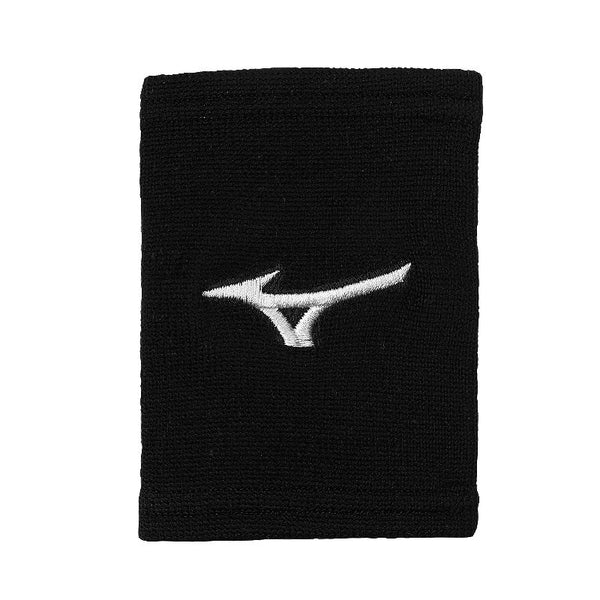 "Mizuno G2 Wristbands 5"" - Black"