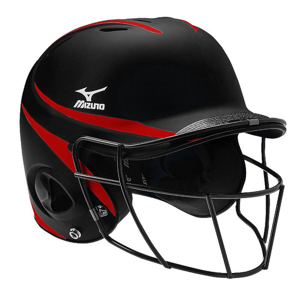Mizuno MBH601 Prospect with FP Mask 2Tone - Black Red