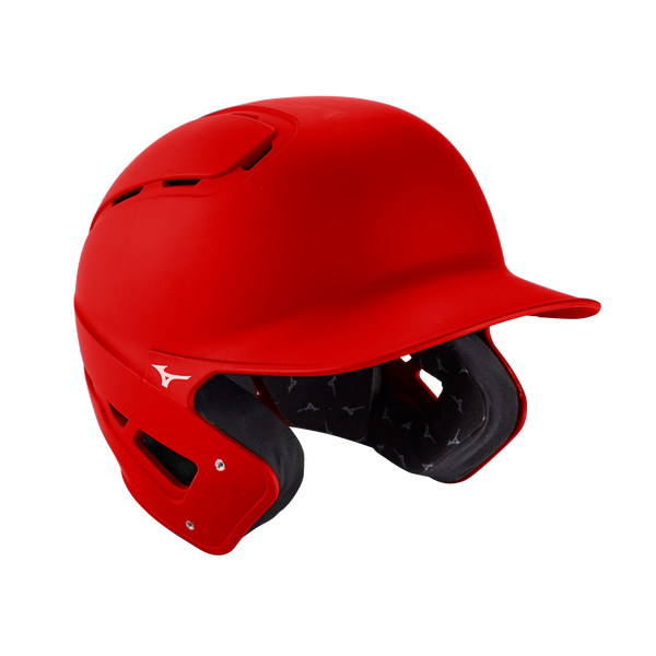 Mizuno B6 Batting Helmet Solid - Red - HIT A Double