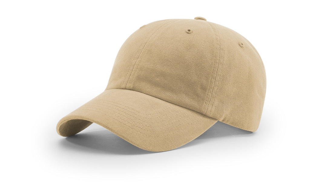 Richardson 380  Garment Dyed/Washed Chino Cap - Wheat