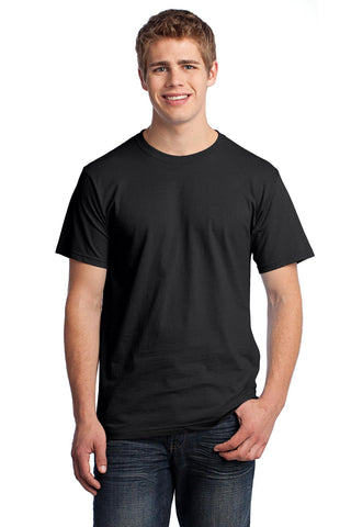 Fruit of the Loom 3930 HD Cotton 100% Cotton T-Shirt - Black